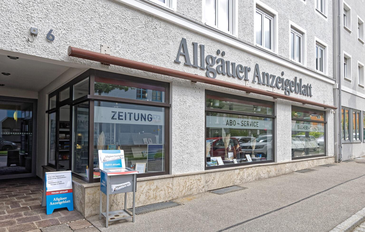 Medienshop Allgäuer Anzeigeblatt in Immenstadt