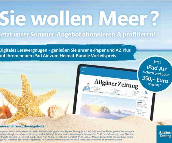 Sommer-Angebot